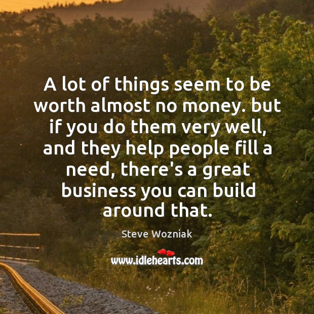 A lot of things seem to be worth almost no money. but Image