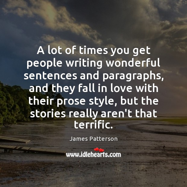 Picture Quote by James Patterson