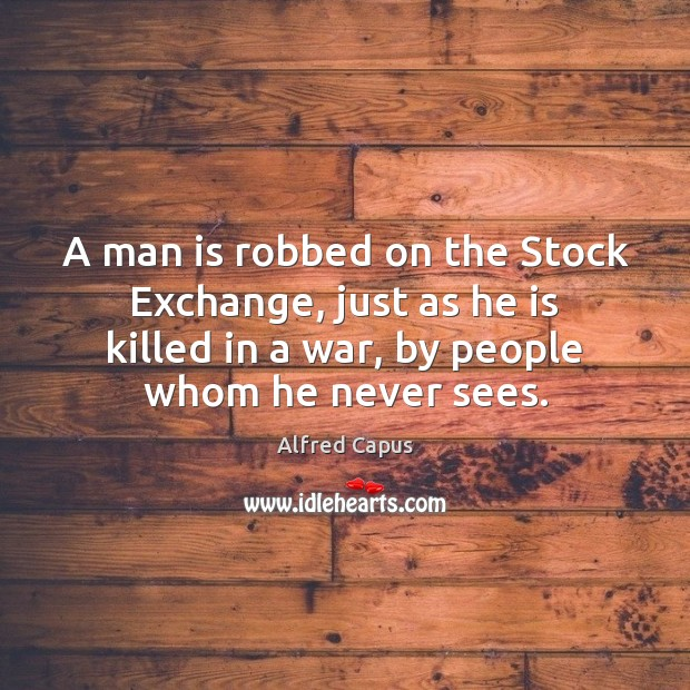 Image, A man is robbed on the Stock Exchange, just as he is