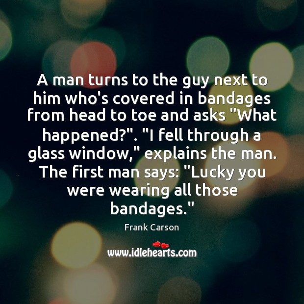 Image, A man turns to the guy next to him who's covered in