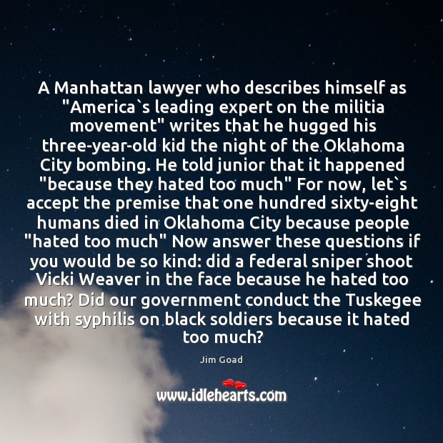"""A Manhattan lawyer who describes himself as """"America`s leading expert on Image"""