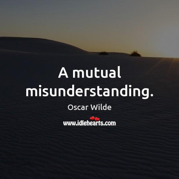 Image, A mutual misunderstanding.