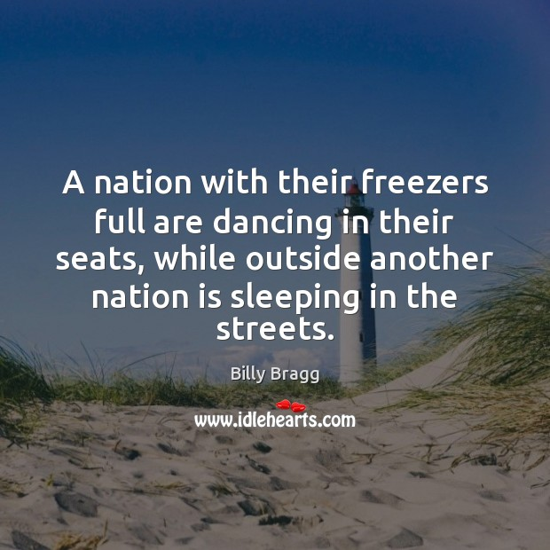 Image, A nation with their freezers full are dancing in their seats, while