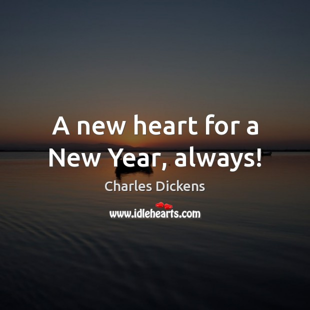 Image, A new heart for a New Year, always!