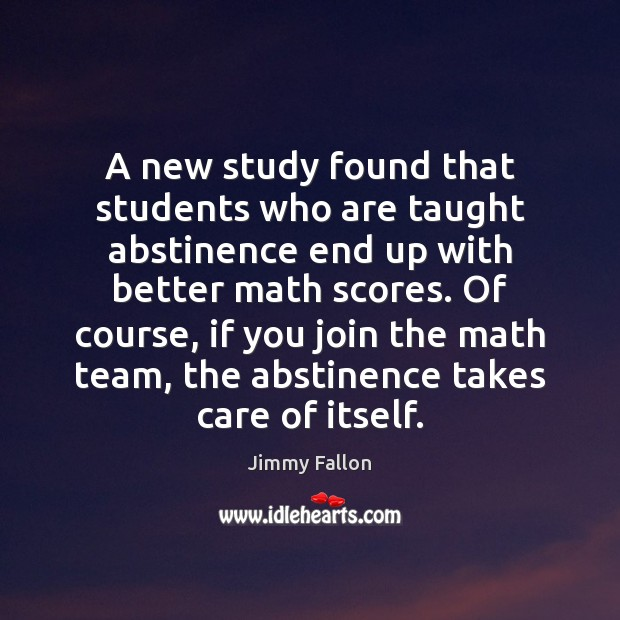 A new study found that students who are taught abstinence end up Image