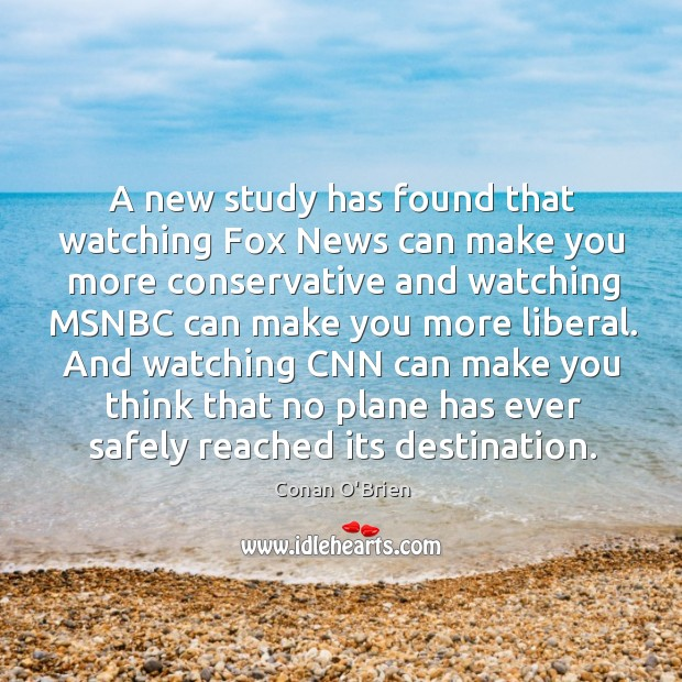 A new study has found that watching Fox News can make you Image