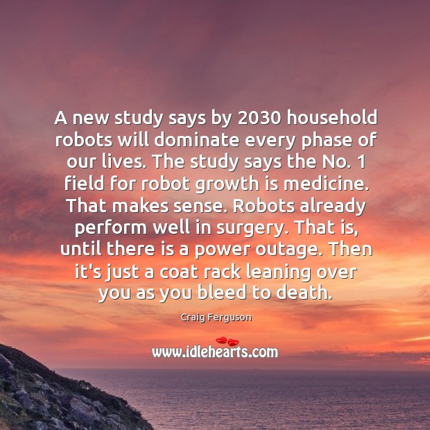 A new study says by 2030 household robots will dominate every phase of Image