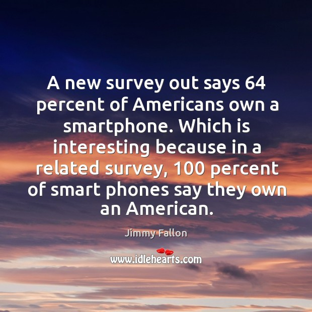 A new survey out says 64 percent of Americans own a smartphone. Which Image