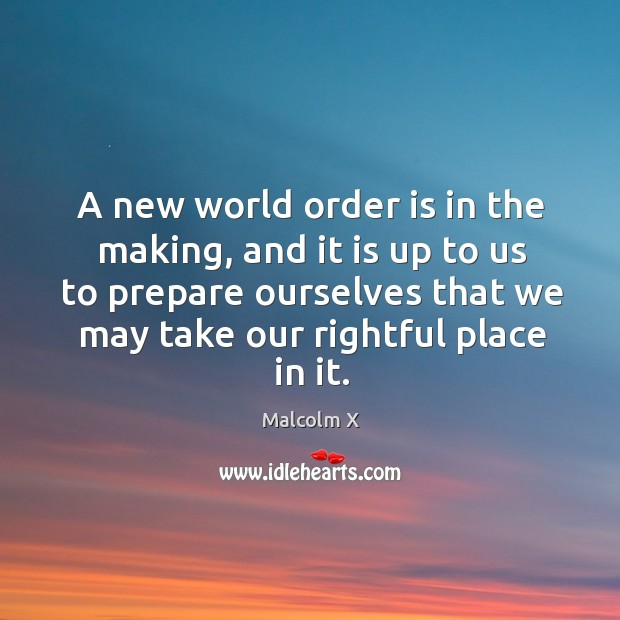 A new world order is in the making, and it is up Image