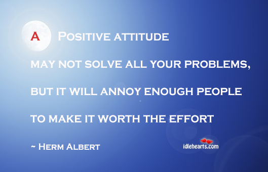 A Positive Attitude is Important in Life