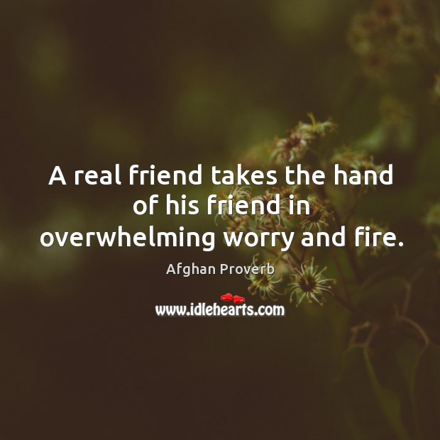 Image, A real friend takes the hand of his friend in overwhelming worry and fire.