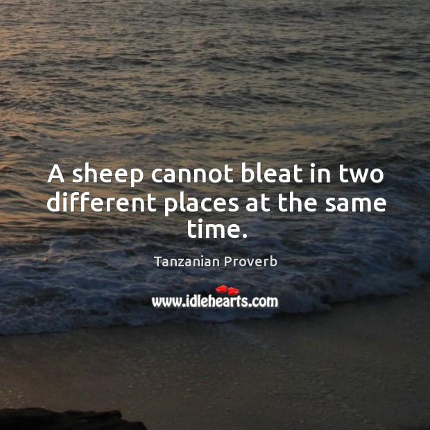 Tanzanian Proverbs