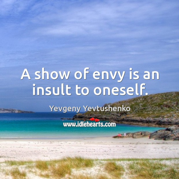 Envy Quotes