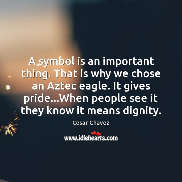 A symbol is an important thing. That is why we chose an Image