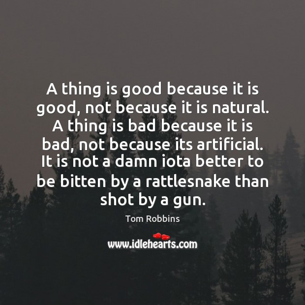 A thing is good because it is good, not because it is Image