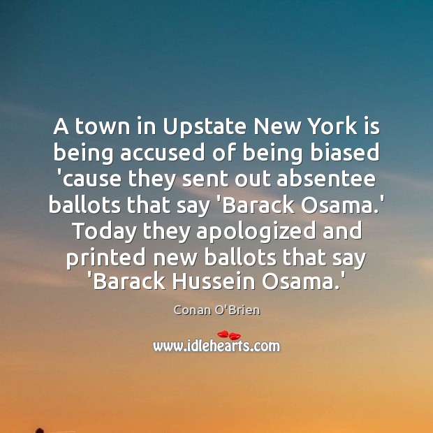 Image, A town in Upstate New York is being accused of being biased