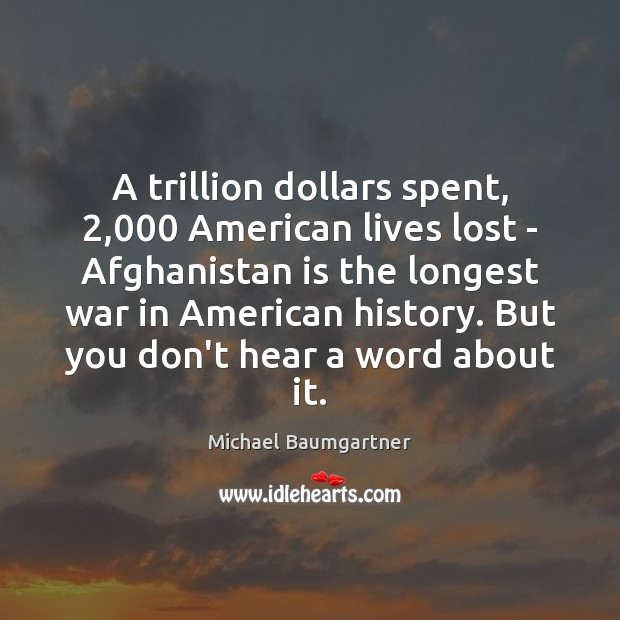 A trillion dollars spent, 2,000 American lives lost – Afghanistan is the longest Image