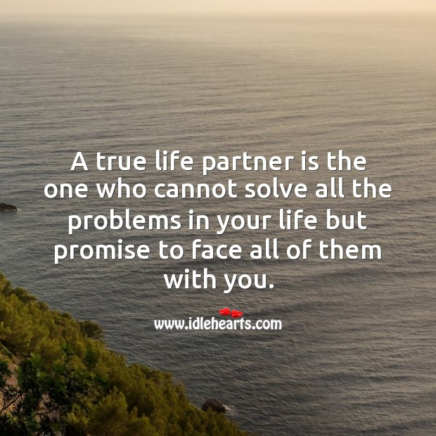 A true life partner Image