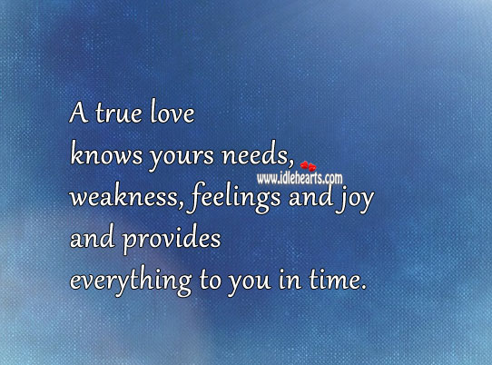 Image, A true love knows feelings and joy
