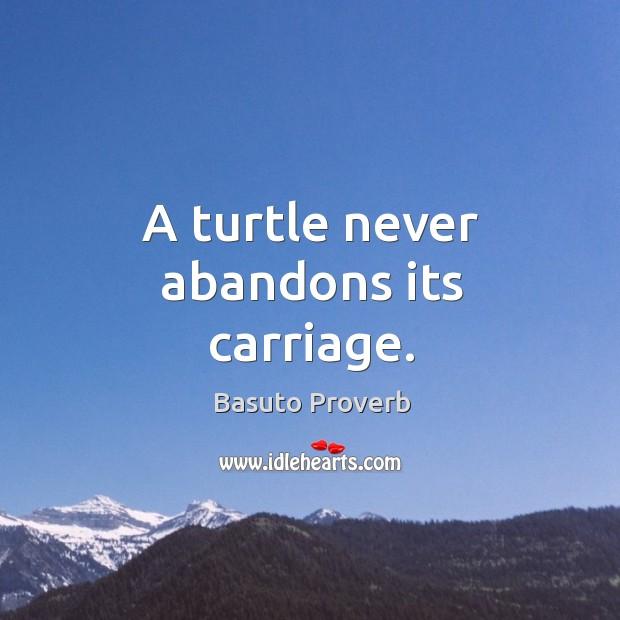 Basuto Proverbs