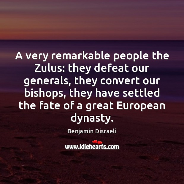 Image, A very remarkable people the Zulus: they defeat our generals, they convert