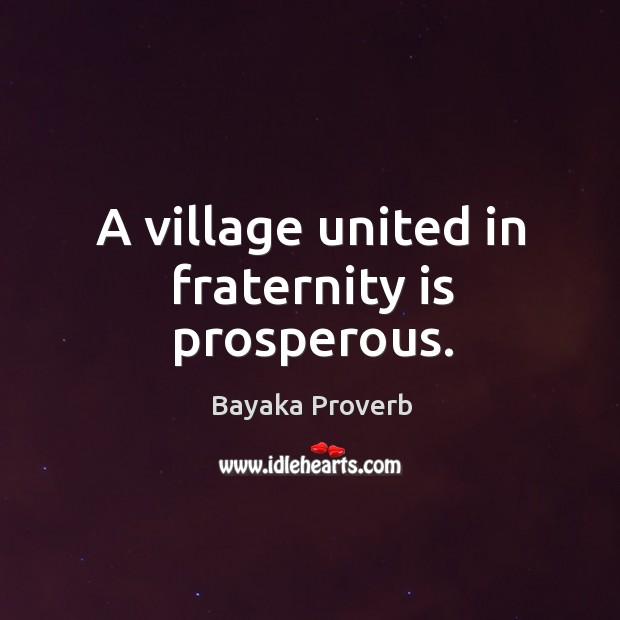 Bayaka Proverbs
