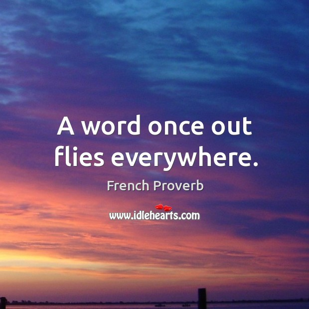 French Proverb Image