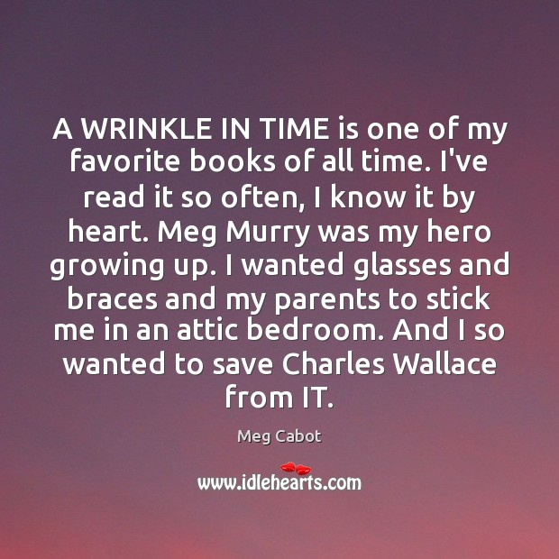 A WRINKLE IN TIME is one of my favorite books of all Image