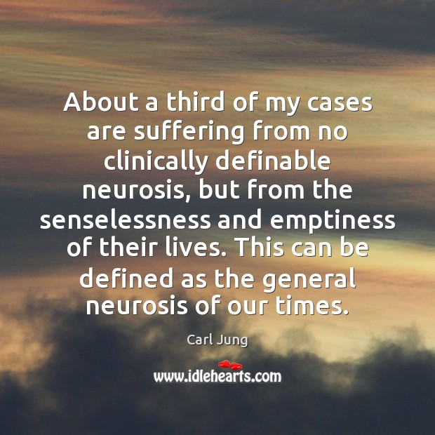 Image, About a third of my cases are suffering from no clinically definable