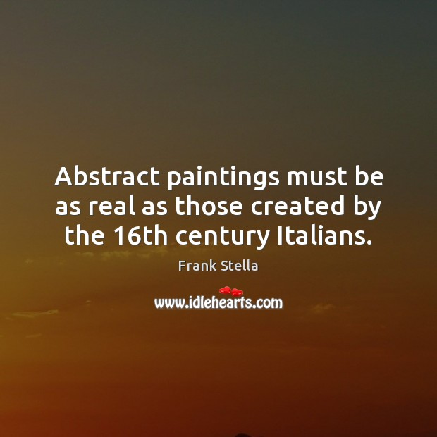 Picture Quote by Frank Stella