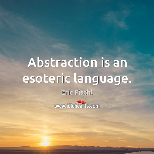 Image, Abstraction is an esoteric language.