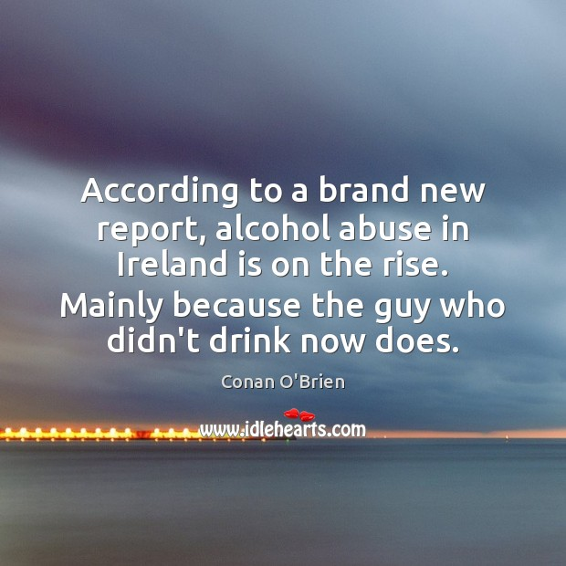 Image, According to a brand new report, alcohol abuse in Ireland is on