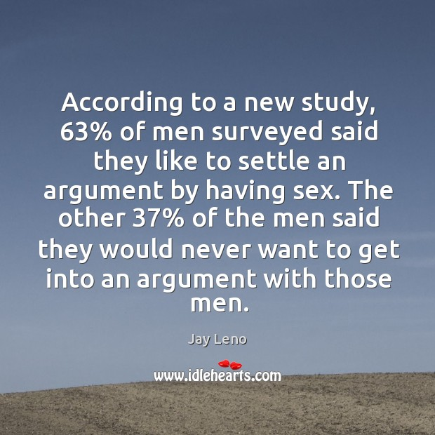 Image, According to a new study, 63% of men surveyed said they like to