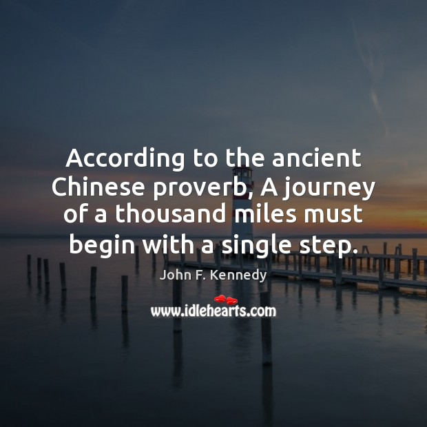 Image about According to the ancient Chinese proverb, A journey of a thousand miles