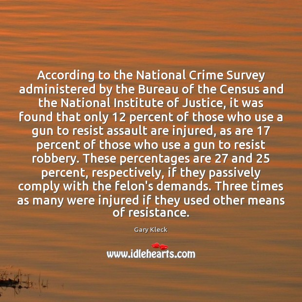 Image, According to the National Crime Survey administered by the Bureau of the