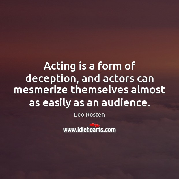 Picture Quote by Leo Rosten
