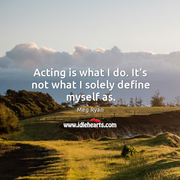 Acting Quotes Image