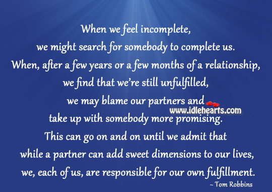 A Partner Can Add Sweet Dimensions To Our Lives