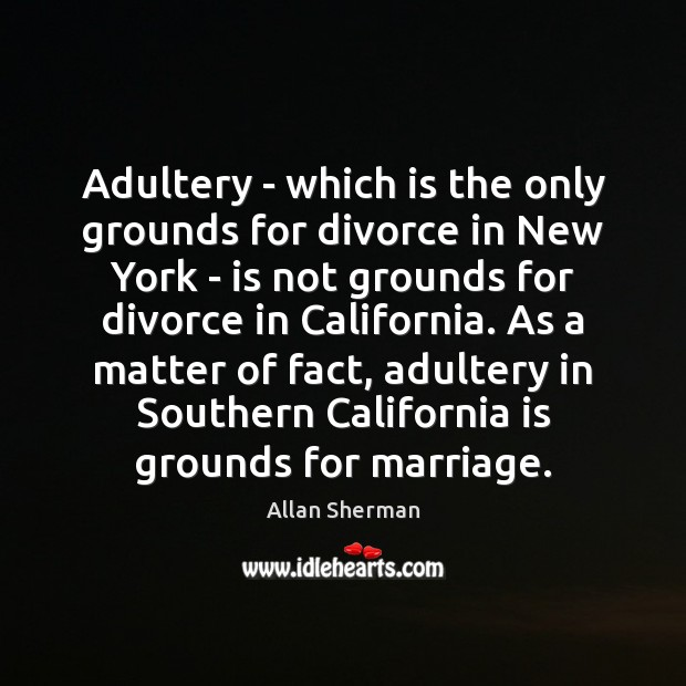 Image, Adultery – which is the only grounds for divorce in New York