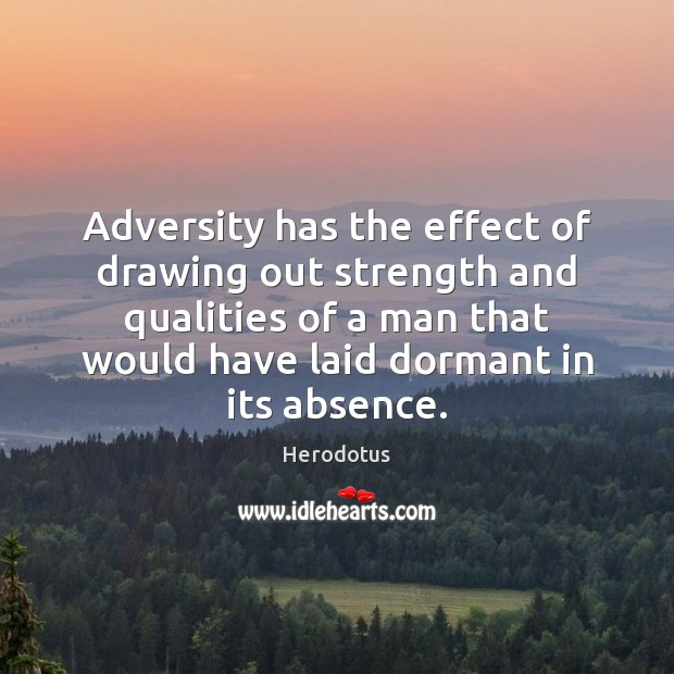 the effects of adversity Adversity may help people distinguish between events they can really control by changing their environment versus uncontrollable events while they cannot change the environment in the latter case, they can control their response to them by accepting and adjusting their beliefs to fit with facts on .