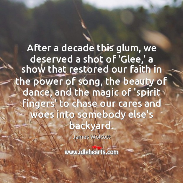 After a decade this glum, we deserved a shot of 'Glee,' Image