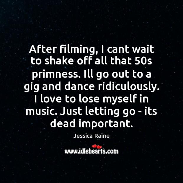 Picture Quote by Jessica Raine