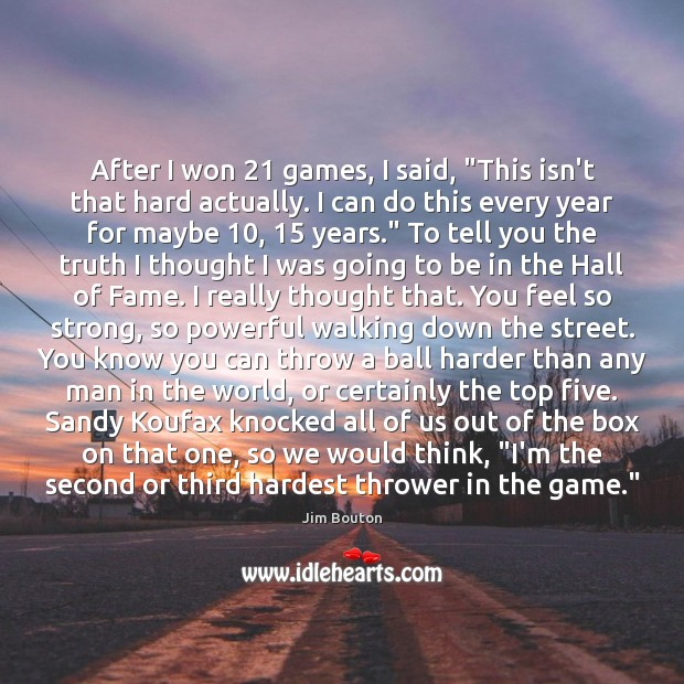 Picture Quote by Jim Bouton