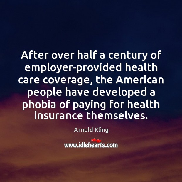 After over half a century of employer-provided health care coverage, the American Image
