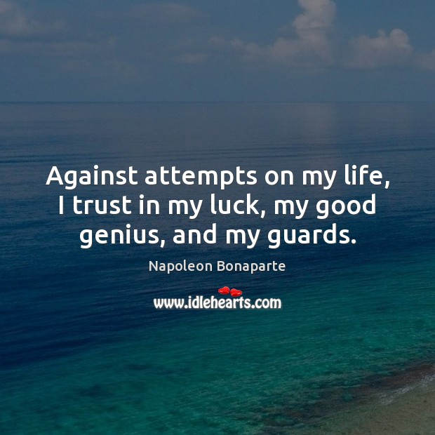 Luck Quotes Image