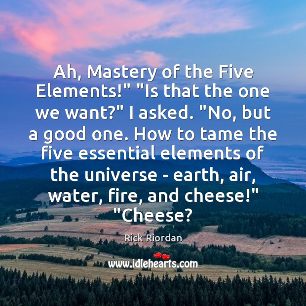 """Ah, Mastery of the Five Elements!"""" """"Is that the one we want?"""" Image"""
