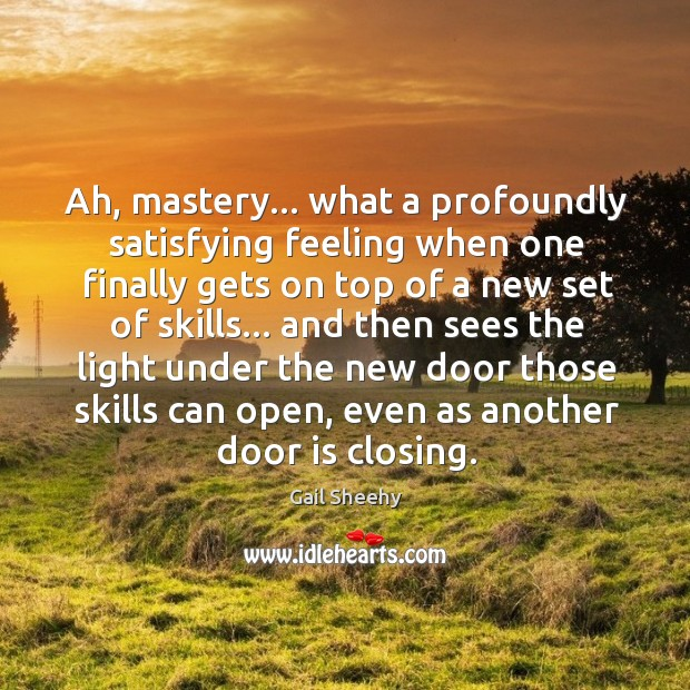 Image, Ah, mastery… What a profoundly satisfying feeling when one finally