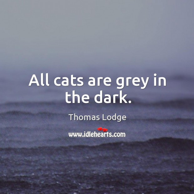 all cats are grey Care killed a cat care is the load on the mind if it killed a cat, which has nine lives - or so 'tis said read more → the darkest hour is that before the dawn.