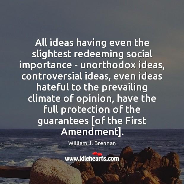 All ideas having even the slightest redeeming social importance – unorthodox ideas, Image