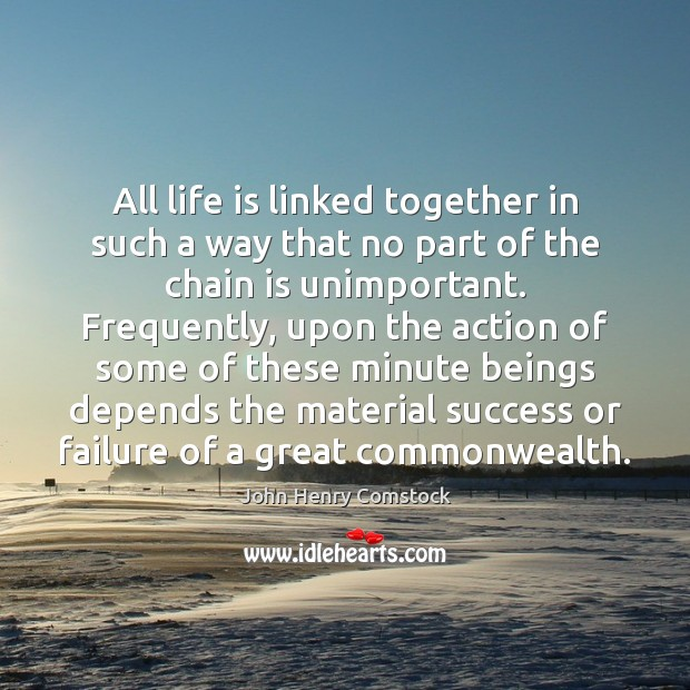 All life is linked together in such a way that no part Image